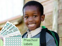 Preschool Labels