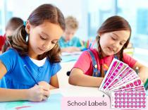 Kids School Labels